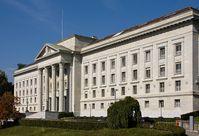 Das Bundesgerichtsgebäude in Lausanne