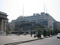 Sitz der AFP am Place de la Bourse in Paris.