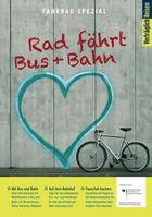 """Die Verträglich Reisen-Servicebroschüre """"Rad fährt Bus und Bahn"""" / Bild: """"obs/Verträglich Reisen"""""""
