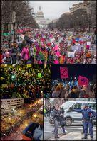 Proteste gegen Donald Trump im November 2016