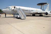 AWACS auf dem Flugfeld