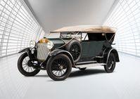 Laurin & Klement RK/M (1921) Bild: SMB Fotograf: Skoda Auto Deutschland GmbH