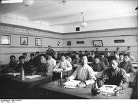 Studenten der Deutsch-Chinesischen Hochschule in Tsingtau, 1913