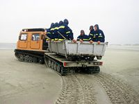 Das Öl muss von Spezialkräften entsorgt werden. © WWF / Christian Kaiser