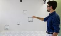 3D-Displays: Sie reagieren auf Handgestiken. Bild: queensu.ca
