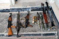 Kleinwaffen (Symbolbild)