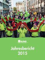 Cover BUND-Jahresbericht 2015