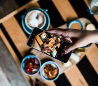 Essens-Bild: Social Web beeinflusst Ernährung.