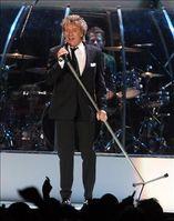 Rod Stewart in Zaragoza, Spain, November 2006