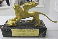 Preistrophäe des Jahres 1981