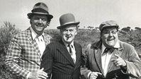 Die Olsenbande auf Mallorca bei Dreharbeiten zum Film. Der (voraussichtlich) letzte Streich der Olsenbande.
