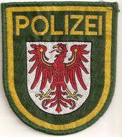 Polizeiwappen Brandenburg (Symbolbild)