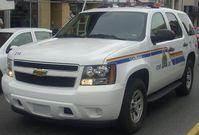 Streifenwagen der RCMP, die nationale Polizei Kanadas.