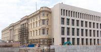 Das Humboldt Forum ist ein entstehendes Museum im Rahmen des Wiederaufbaus des Berliner Schlosses. Es soll frühestens 2020 eröffnet werden und wird Ausstellungen über außereuropäische Kulturen beherbergen.