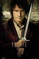"""Kinoplakat """"Der Hobbit"""""""