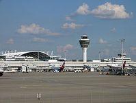 Flughafen München Franz Josef Strauß. Bild: Kozuch / de.wikipedia.org