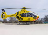 Der neue ADAC Hubschrauber vom Typ H135. Bild: ADAC