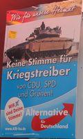 AfD Wahlplakat (Symbolbild)
