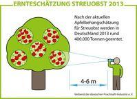 """Das Erntejahr 2013 wird besonders durch starke regionale Unterschiede gekennzeichnet sein. Bild: """"obs/VdF Verband der deutschen Fruchtsaft-Industrie"""""""