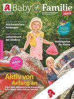 Titelbild Baby und Familie Juli 2021 Bild: Wort & Bild Verlag Fotograf: Wort & Bild Verlag