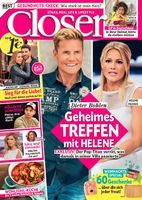 "Cover Closer 50/2017 Bild: ""obs/Bauer Media Group, Closer/Closer"""