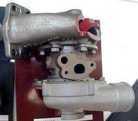Abgas-Turbolader eines Pkw