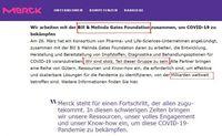 Anlage 2: Die Merck-Gruppe arbeitet mit der Bill & Melinda Gates Foundation zusammen Bild: WB / Eigenes Werk