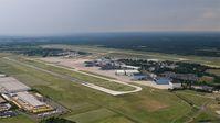 Luftaufnahme Flughafen Hannover-Langenhagen Juni 2017