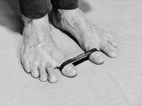 Toega ist Yoga für die Zehen  Bild: Joe Nimble Fotograf: Joe Nimble
