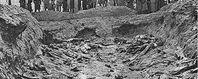 Leichen in Massengrab bei Katyn. Bild: dts Nachrichtenagentur