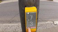 Streetpong: Simulation an der Ampel Almstorstraße in Hildesheim Quelle: HAWK (idw)