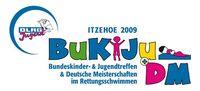 Logo des Bundeskinder- und Jugendtreffens (BuKiJu) der DLRG-Jugend in Itzehoe