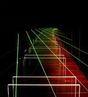 Die Vielfachbilder zweier Objekte zwischen zwei parallelen Spiegeln illustrieren das Prinzip der elektromagnetisch induzierten Transparenz von Atomkernen: Lässt man Röntgenstrahlen zusammen mit zwei Eisenschichten in so einem Spiegelsystem (Optischer Resonator) miteinander wechselwirken, so entsteht ein quantenmechanischer Überlagerungszustand aus dem Eisen und seinen Spiegelbildern, der die Atomkerne des Eisens durchsichtig erscheinen lässt. Quelle: Foto: DESY (idw)