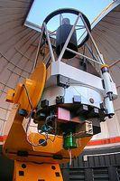 Polnisches 1,3-m-Teleskop, Las-Campanas-Observatorium, Chile Bild: Krzysztof Ulaczyk (more work on Wikimedia Commons: Kszulogaleria) / de.wikipedia.org