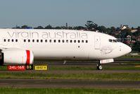 Eine Boeing 737 der Virgin Australia am Tag nach der Umbenennung von Virgin Blue