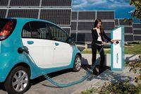 Elektrofahrzeug beim externen Aufladen des Speichers. Bild: Walther_Werke / de.wikipedia.org