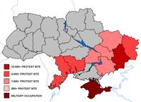 Prorussische Proteste in der Ukraine 2014