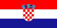 Flagge der Republik Kroatien