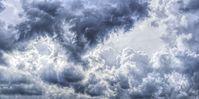 Gewitterwolken (Symbolbild) - SNA, 1920, 08.07.2021 (Foto: © CC0 / FelixMittermeier / Pixabay)