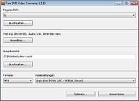 Screenshot Free DVD Video Converter