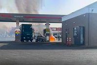 Tankstelle Bild: Polizei