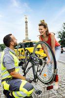 Neue ADAC Fahrradpannenhilfe in Berlin und Brandenburg  Bild: ADAC_Gerd_George Fotograf: Gerd George