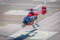 Erste H145 mit Fünfblattrotor Retrofit im Flug Bild: DRF Luftrettung Fotograf: Quelle: Airbus Helicopters