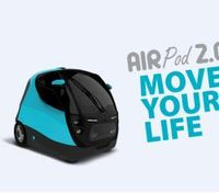 """Airpod"": Luftangetriebenes Car serienmäßig produziert. Bild: airmobility.it"