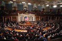 USA: Plenarsaal des Repräsentantenhauses