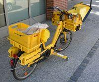 Elektrofahrrad der Deutschen Post (Symbolbild)