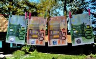Geldwäsche (Symbolbild)