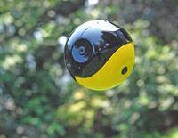 """""""Squito"""": Werfbare Kamera macht im Flug Fotos. Bild: serveball.com"""
