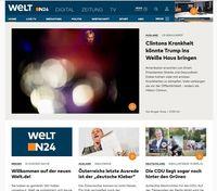 Bild: Screenshot der Webseite http://www.welt.de