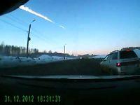 "Screenshot aus dem Youtube Video ""Метеорит над Челябинском(Meteorit)15.02.13 """